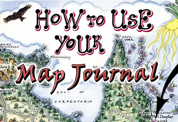 How to use your map journal