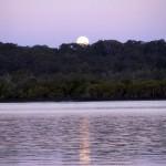 Moon & Sun Rise