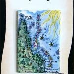 Cape York Map Magnet