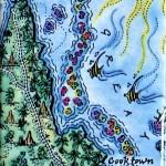 Cape York Map Magnet Australia