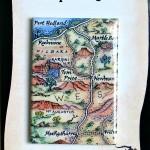 Pilbara Western Australia Map Magnet