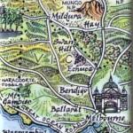 Melbourne to Mildura Map Magnet Australia