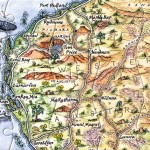 Ningaloo and the Pilbara postcard map