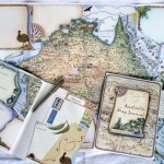 Waltzing Matilda Australia Map Journal