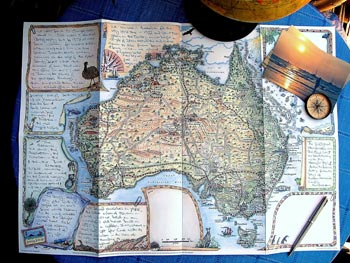 Journey Jottings Map Journal