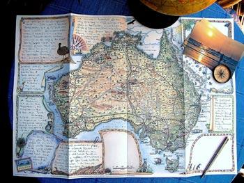 Journey Jottings Map Journal