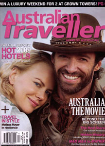 Australian Traveller Cover - Dec '08/Jan '09