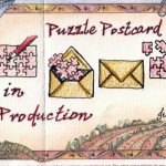 Year at a Glance - July's highlight: Puzzle Postcard Maps in Production