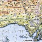 South Australia Nullarbor map postcard
