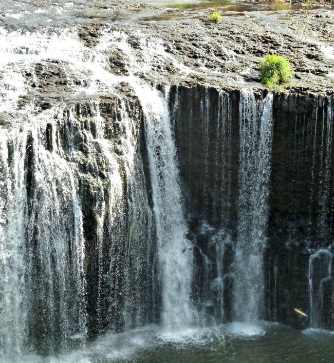 Australia's widest waterfall