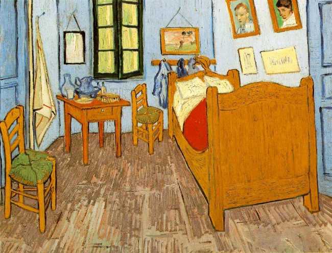Van Gogh's room in Arles, France