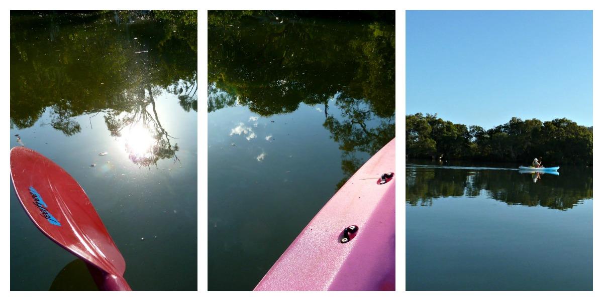 kayak moreton bay