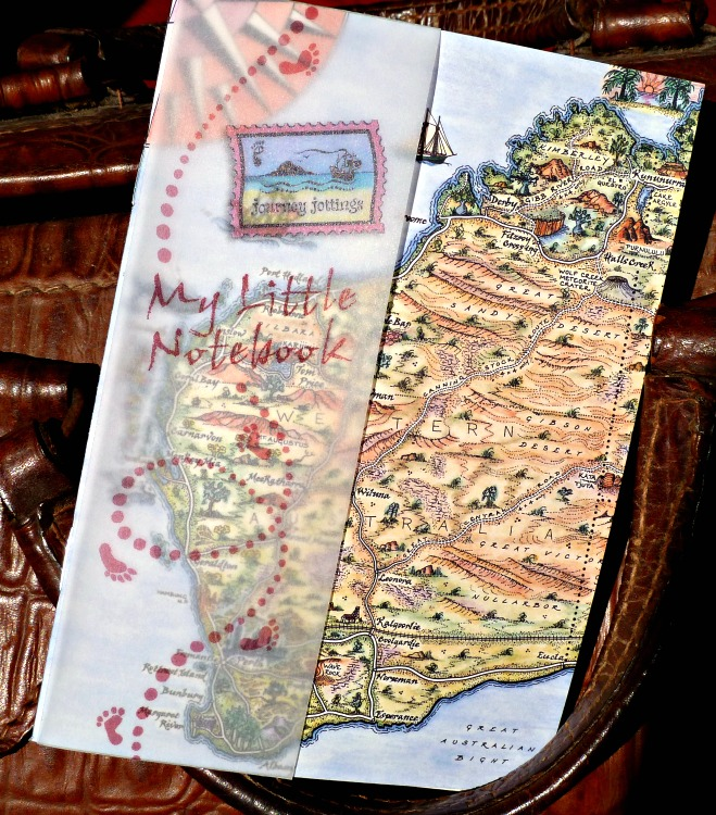 pictorial map hand drawn by Journey Jottings