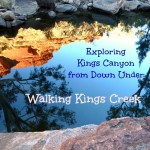 Exploring Kings Canyon from Down Under - The Kings Creek Walk