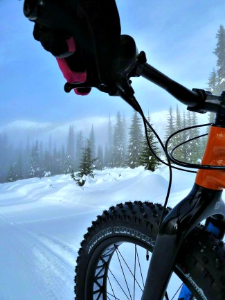 Fat tire biking in Canada