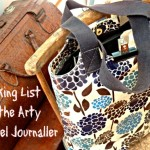 Packing List for Travel Journallers Who Want to be More Arty