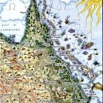 Queensland Puzzle Postcard